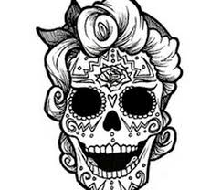 Small Picture Coloring Pages Day Of The Dead Coloring Pages Pics Images 6440