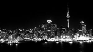City Lights Wallpaper Black And White Grayscale Photography Of Cityscape Near Body Of Water