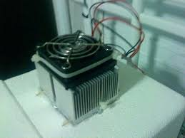 diy water chiller from air conditioner system setup