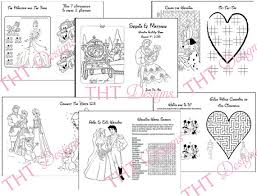 wedding activity book printables inspiring wedding coloring
