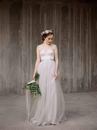 12 etsy boho wedding dresses with spaghetti straps the bohemian