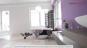 Ideen für Fliesen in Bad und Küche der mediterrane Travertin