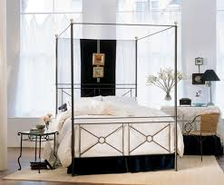 Restoration Hardware 29th C French Iron Canopy Bed  CopycatchicCanopy Iron Bed