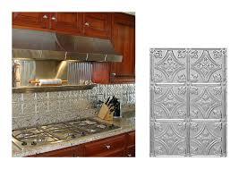 Tin Backsplashes For Kitchens Metal Backsplash Tiles For Backsplash Kitchen Joy Studio Design