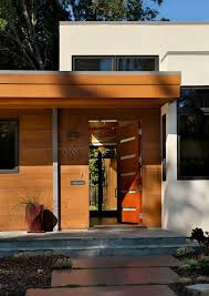 mid century modern front porch. Modern Entry Doors With House Numbers Wood And Paint Mid Century Front Porch I