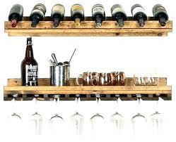 wall mounted stemware racks wine rack target designs 2 piece glass holder