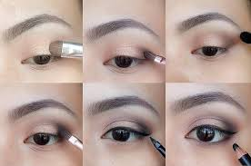 a touch of dark eyeshadow toward the outer corners of your eyes can add incredible depth and drama with just a little effort this is a perfect look that