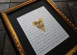 best 25 parent wedding gifts ideas on pinterest great dad Wedding Gifts For Parents Frames 13 thoughtful wedding gifts for parents wedding gift for parents picture frame