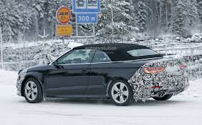 2016 Audi A3 Cabriolet Facelift ...  O