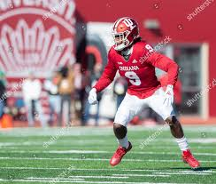 Indiana defensive back Jonathan Crawford 9 during Editorial Stock Photo -  Stock Image   Shutterstock