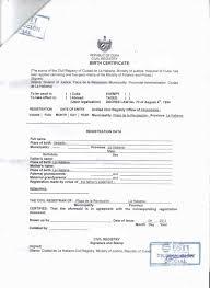 Certificate Template Certificate Translation Template For