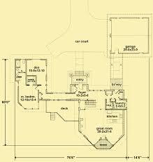 main level floor plans for hilltop view