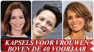 Trend Kapsels Voor Vrouwen Boven De 40 Voorjaar 2018