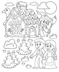 25 Idee Hans En Grietje Kleurplaat Mandala Kleurplaat Voor Kinderen