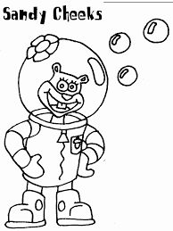 Small Picture Spongebob Coloring Pages
