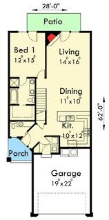 additionally  furthermore Little House on a Trailor 16 x 40 Floorplan   Tiny Living as well  additionally 43 best House Designs 2014 images on Pinterest   Modern houses additionally  furthermore 40 best Condos and duplexes images on Pinterest   Small houses together with  further Main Floor Plan 2 for F 547 Fourplex plans  20 ft wide house plans moreover  as well 840 best FLOORPLANS images on Pinterest   Home plans  Architecture. on duplex house plans for seniors 1br 1ba each