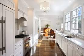 Modern White Galley Kitchen Love Pinterest Amazing Style Remodel