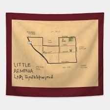 Little Armenia By Pendersleighandsonscartography