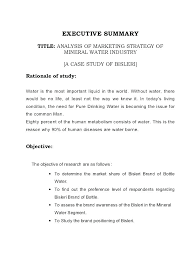 Market Research Template Presentation Free Outline Format