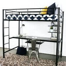 twin loft bed with desk black metal twin loft bed with desk twin rodeo loft bed