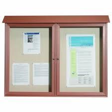 park ranger series two door hinged door bulletin boardsee more options 865 98 1 286 98