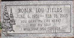 Robin L. Fields (1951-2003) - Find A Grave Memorial