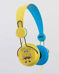 <b>Наушники Coloud Spongebob Square</b> Yellow купить с доставкой в ...