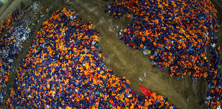 friday essay the photographer the island and half a million  friday essay the photographer the island and half a million lifejackets