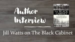 Author Interview: Jill Watts on the Black Cabinet - YouTube