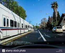 Vta Light Rail Timetable San Jose California Light Rail Vta Stock Photo 48093211 Alamy