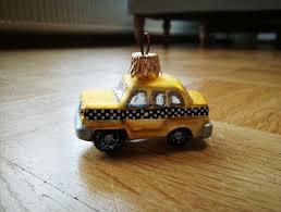 Christbaumschmuck New York Taxi