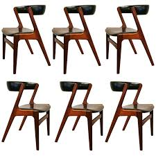 vine diner chairs set of 6 vine danish teak dining chairs