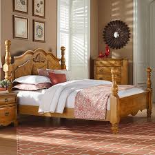 Traditional Cannonball Poster King Bed by Standard Furniture