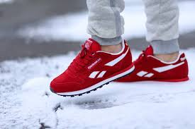 reebok classic leather red suede just the way we like it kicksonfire com