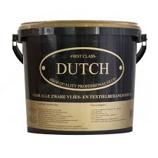 Voorstrijk Vliesbehang Royal Dutch 7 Patchwork Tegel Zwart Wit