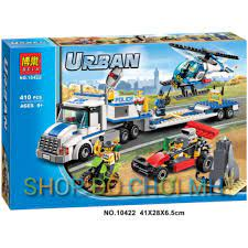 đồ chơi lego xếp hình lắp ráp bela urban 10422-xe lưu động di chuyển trực  thăng, Giá tháng 2/2021