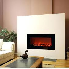 built in wall electric fireplace recessed within fireplaces designs 13