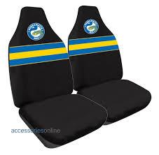 nrl parramatta eels car seat covers free