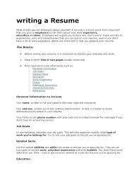 What To Put Under Skills On Resume What To Put For Skills On Resume