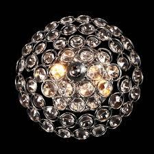 <b>CL316321 шарм</b> - Настенно-потолочный <b>светильник</b> из хрусталя