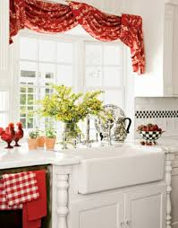 vibrant and very pleasant the right kitchen curtains 18 designs for a cozy interior