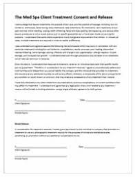 microneedling consent form client forms the med spa