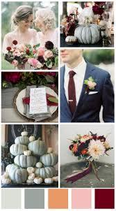 Fall wedding design board - Fall Wedding color scheme - popular wedding  colors