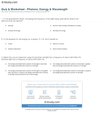 print what is a photon definition energy wavelength worksheet