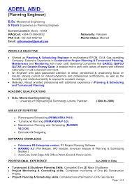 Page 1 of 4 ADEEL ABID (Planning Engineer) B.Sc. Mechanical Engineering ...