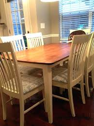 how to refinish dining room table and chairs refinishing dining room table table updating oak dining