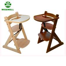 baby dining chair. China Wooden Commercial Baby Dining Chair With Tray - High Chair, Home Furniture E