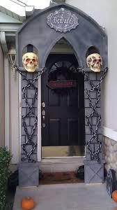 cool door decorations. Plain Decorations 40 Cool Halloween Front Door Decor Ideas Digsdigs Cool Cars Decoration On Door Decorations