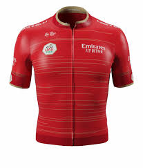 Red Jersey - Uae Tour 2019 Jersey   Transparent PNG Download #172113 -  Vippng