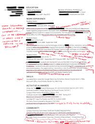 Fraternity Resume Intern 101 Redlined Resumes The Importance Of Narrative